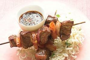 Азиатский шашлык из говядины