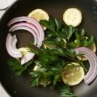 Рецепт Салат с пастой и лососем