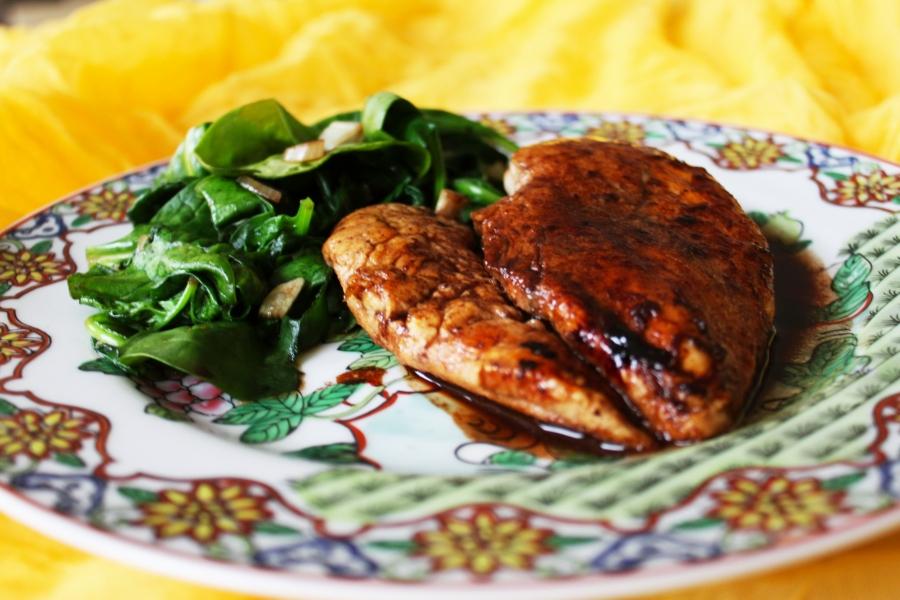 Курица в вине - фото шаг 6