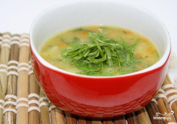 Рецепт Суп из соленого щавеля