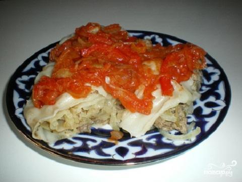 """Узбекское блюдо """"Ханум"""""""