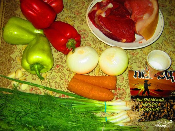Рецепт Фаршированный болгарский перец в духовке