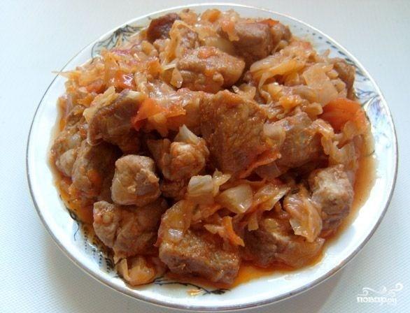 Солянка со свининой
