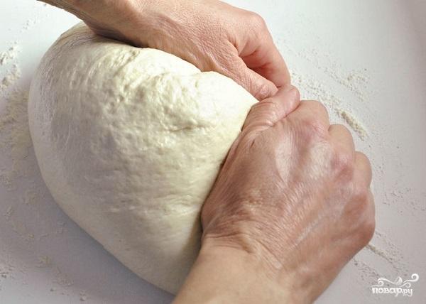Белый хлеб в духовке - фото шаг 5