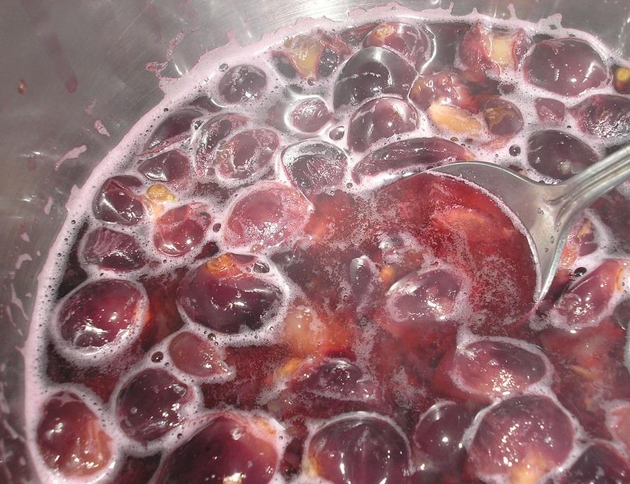 Виноградный шербет - фото шаг 1