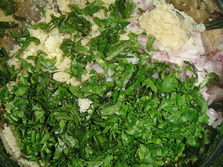 Салат с кускусом и овощами гриль - фото шаг 4