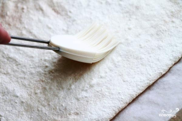 Кокосово-клубничное пирожное - фото шаг 8