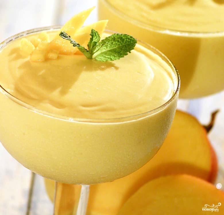 Мусс из манго