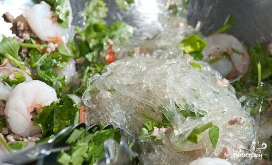 Салат с лапшой - фото шаг 3