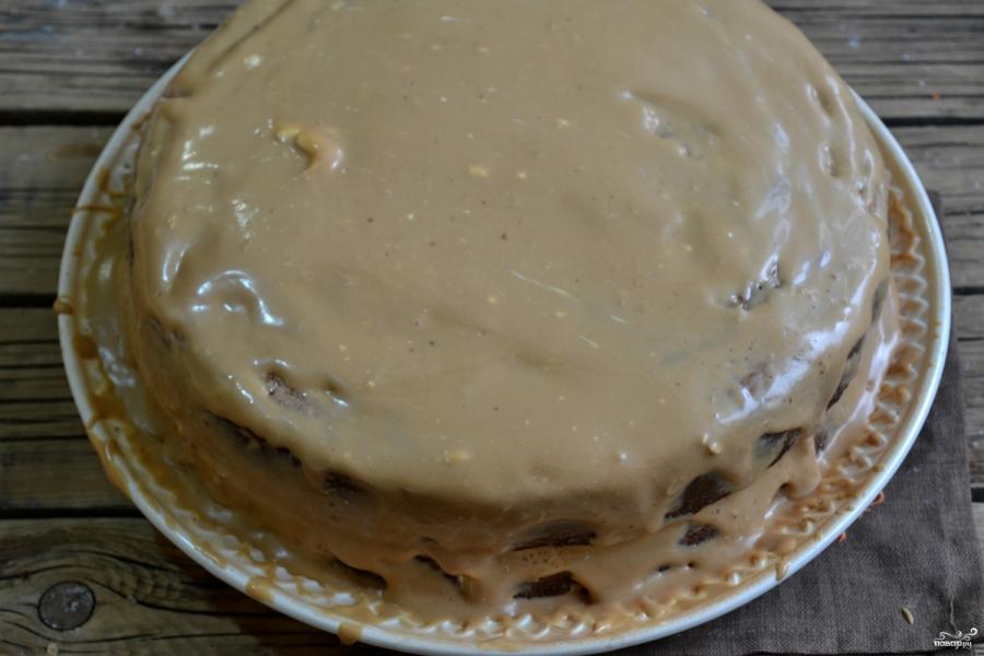 Торт на годик мальчику - фото шаг 10