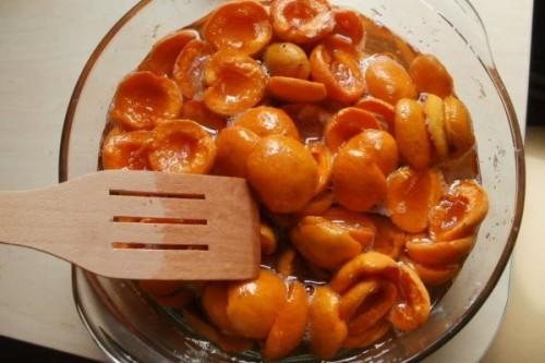 Рецепт Компот из абрикосов и слив