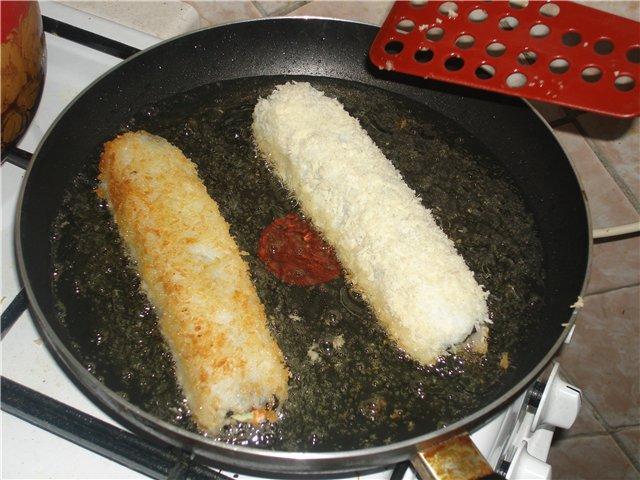Как приготовить жареные роллы в домашних условиях пошаговый рецепт с фото