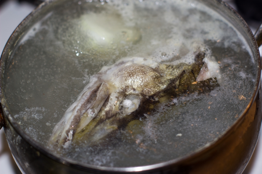 Рыбный суп из щуки - фото шаг 3
