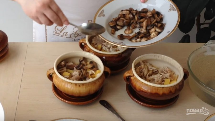 Рецепт картошки в горшочках в духовке