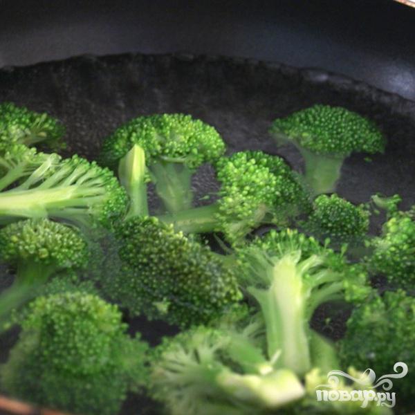 Говядина с брокколи под устричным соусом - фото шаг 3