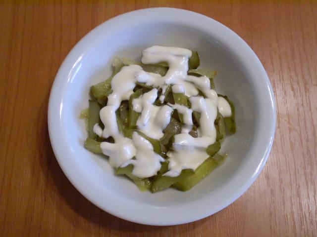Салат с печенью куриной слоеный - фото шаг 8