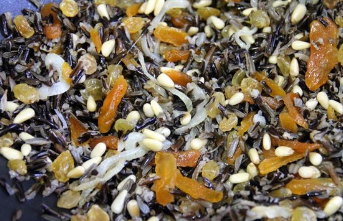 Салат из дикого риса - фото шаг 4