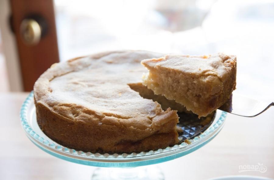 Постный кекс с яблоками - фото шаг 4