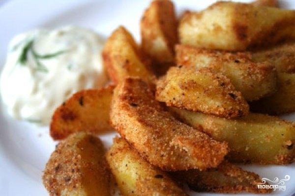 Рецепт Картофель запеченный в аэрогриле