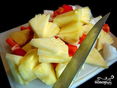Говядина с ананасом - фото шаг 4