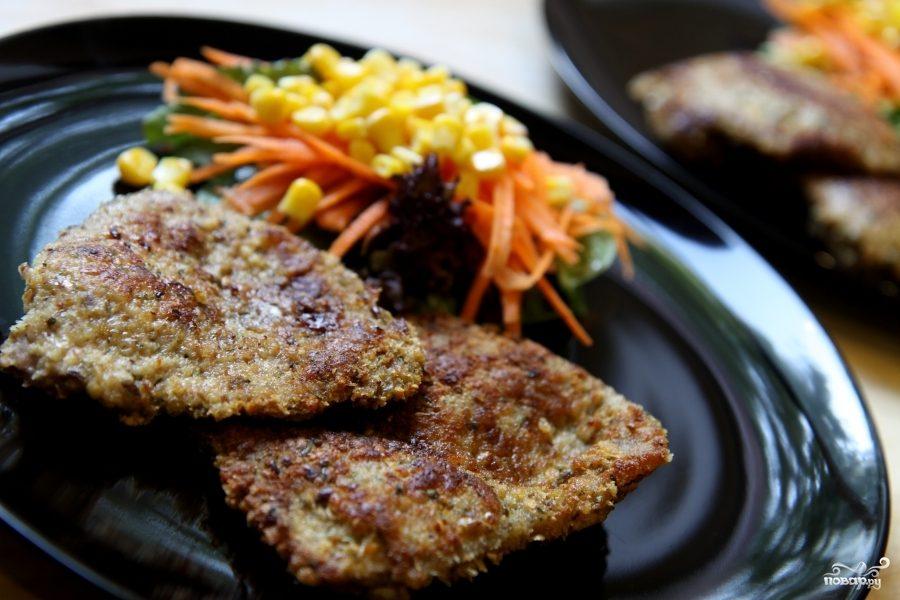Рецепт Шницель из говядины