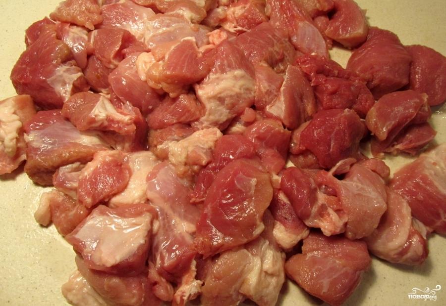 Томатный суп с капустой и мясом - фото шаг 2