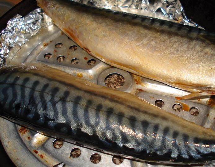 Копченая рыба   - фото шаг 5