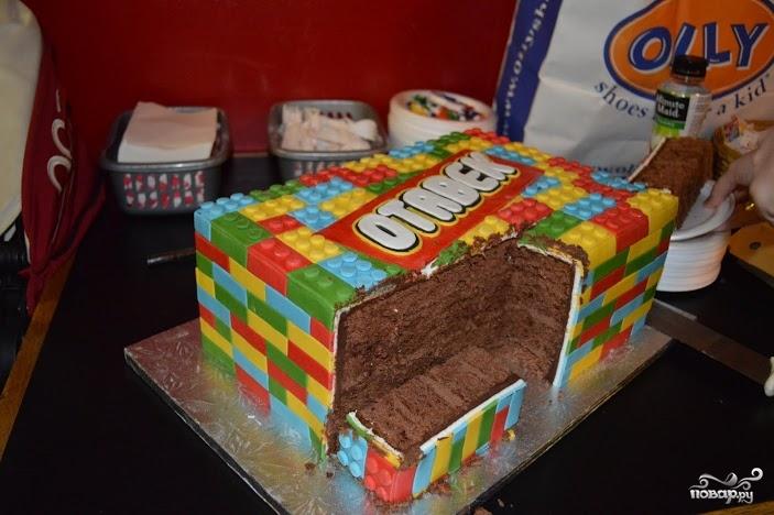 """Торт """"Лего"""""""