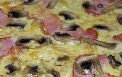 Пицца с ветчиной и шампиньонами - фото шаг 2