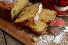 Нежный творожный кекс с цукатами
