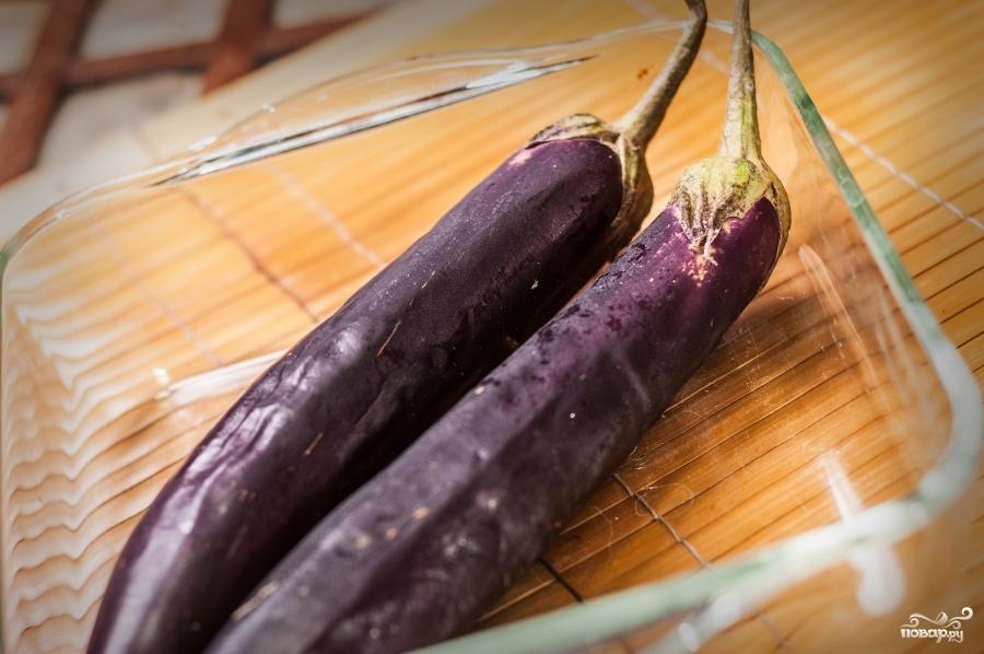 Рецепт Омлет с баклажанами
