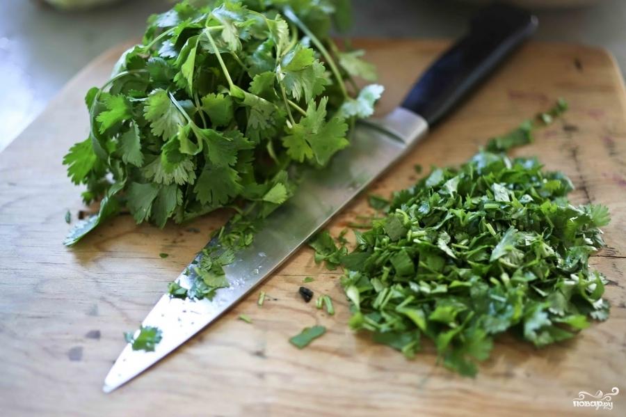 Салат с кольраби и зеленью - фото шаг 3