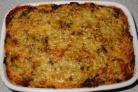 Рыбный пирог с сыром Чеддер