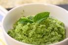 Пюре из зеленого горошка
