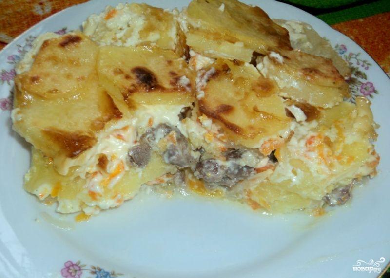 Баранина с картошкой в духовке
