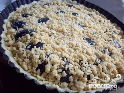 Сливовый пирог - фото шаг 5