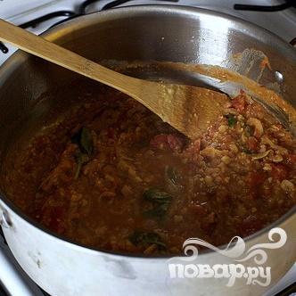 Спагетти с бараньим горохом - фото шаг 3
