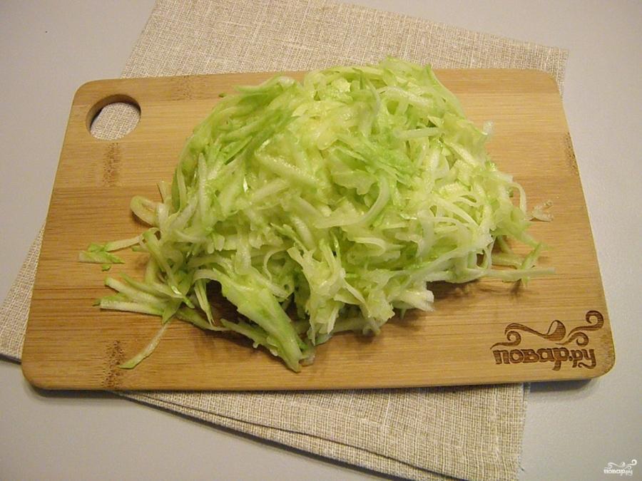 Приготовление оладьев из кабачков пошаговый рецепт с фото