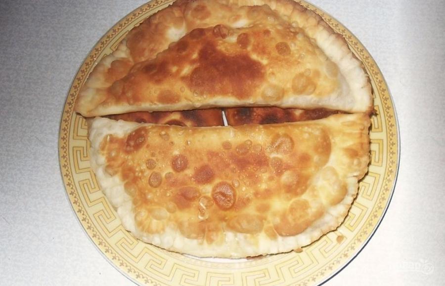 Чебуреки с фаршем рецепт пошаговый на сковороде 200