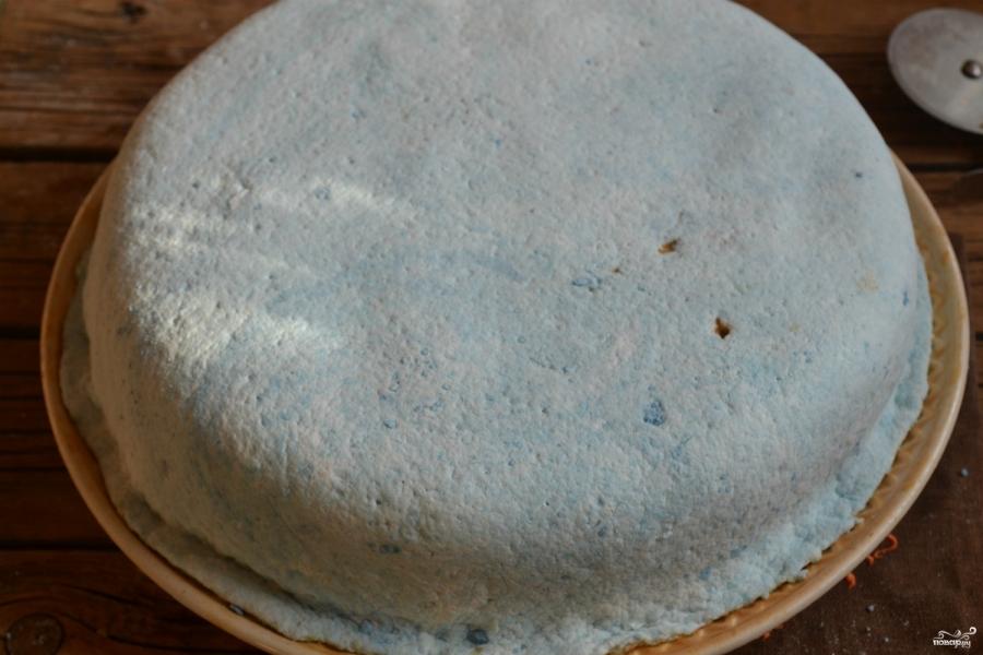 Торт на годик мальчику - фото шаг 12