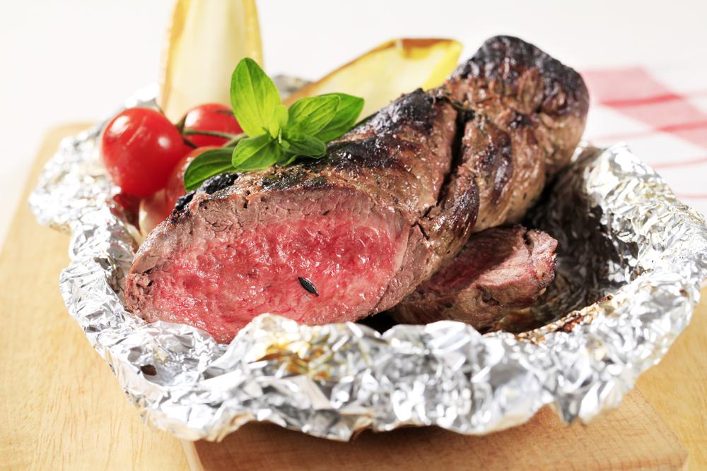 Сочное мясо в фольге