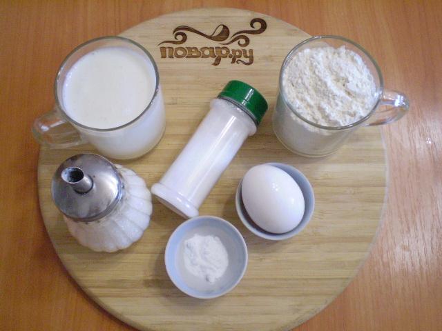 Рецепт Диетическое тесто без дрожжей