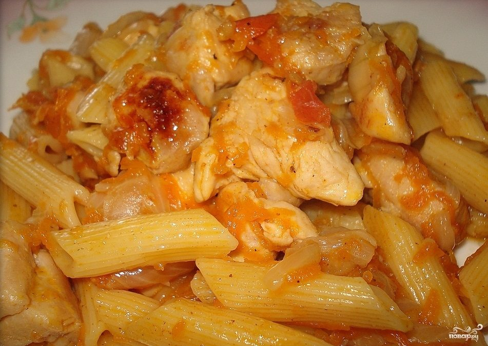 Филе с макаронами рецепт с фото