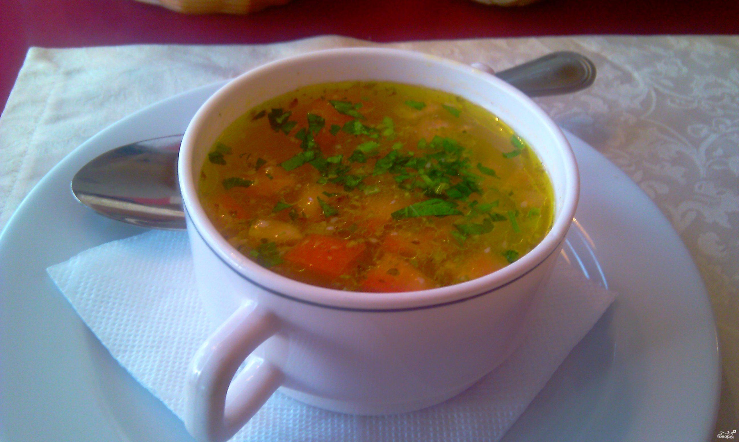Рецепт куриного супа на обед
