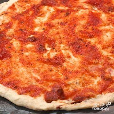 Пицца с авокадо - фото шаг 6