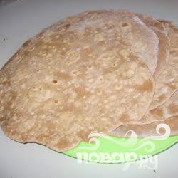 Рецепт Пшеничные шарики-лепешки
