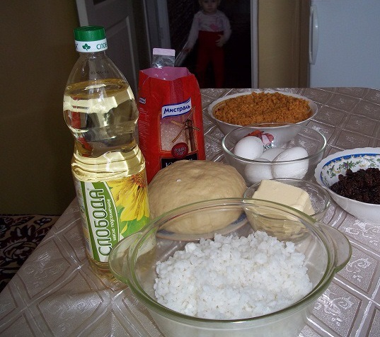 Рецепт Губадия с рисом и изюмом