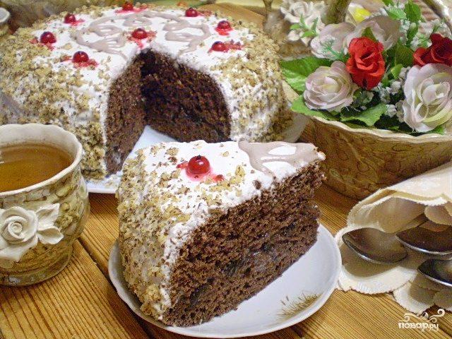 Торт черносливовый