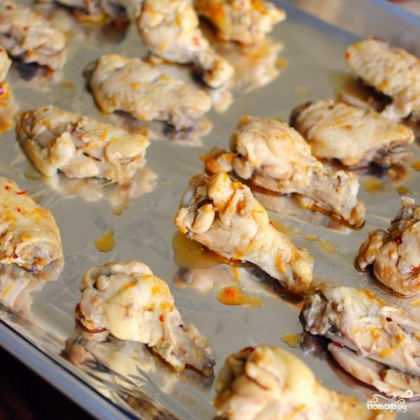 Закуска из куриных крылышек - фото шаг 9