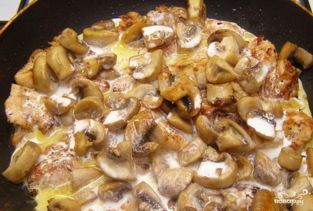 грудка в сливках в духовке с овощами рецепт